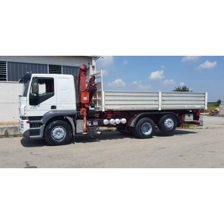 IVECO STRALIS 430 A260S/80 Autogru